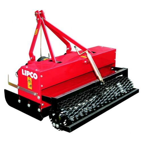 Desherbeur de chemin mecanique sur tracteur 35 Cv - lipco WPD125