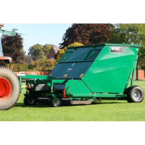 Scarificateur pour gazon -WESSEX STC180  -sur tracteur