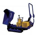 Dumper sur chenille - 740 L - CU 1600 Kg
