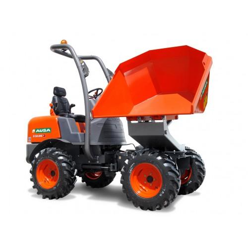 Dumper sur pneu - 800 L - CU 1500 Kg