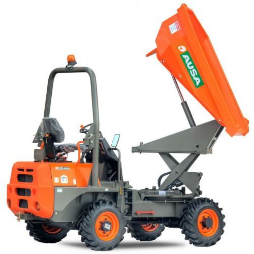 Dumper sur pneu - 1500  L - CU 3500 Kg
