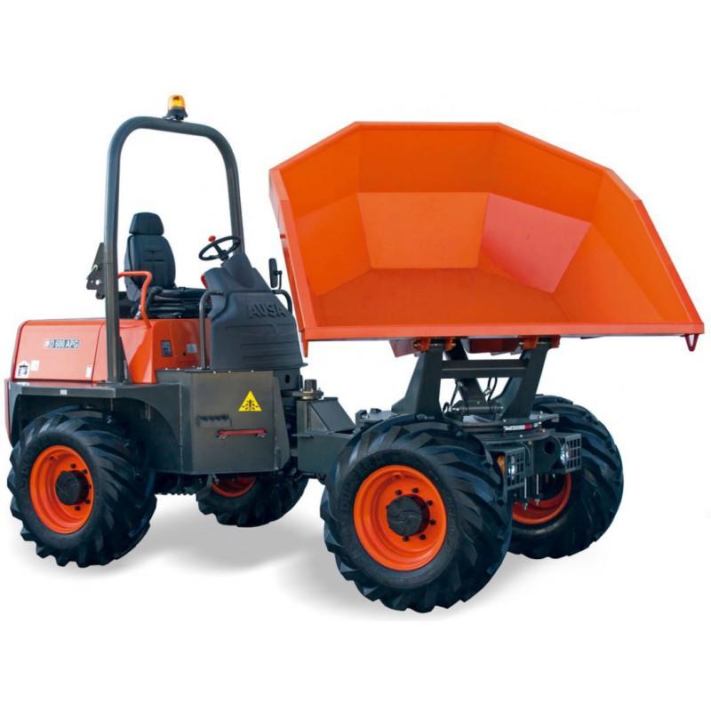 Dumper sur pneu - 3200  L - CU 6000 Kg