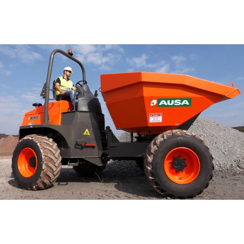 Dumper sur pneu - 4000  L - CU 10 000 Kg