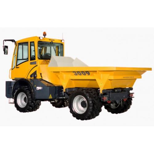 Dumper sur pneu - 4000  L - CU 10 000 Kg - poste de conduite réversible