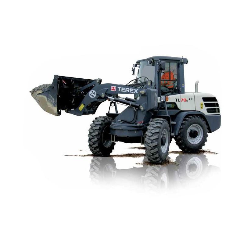 Chargeuse articulée à tourelle sur pneus - 750 L - 900 L
