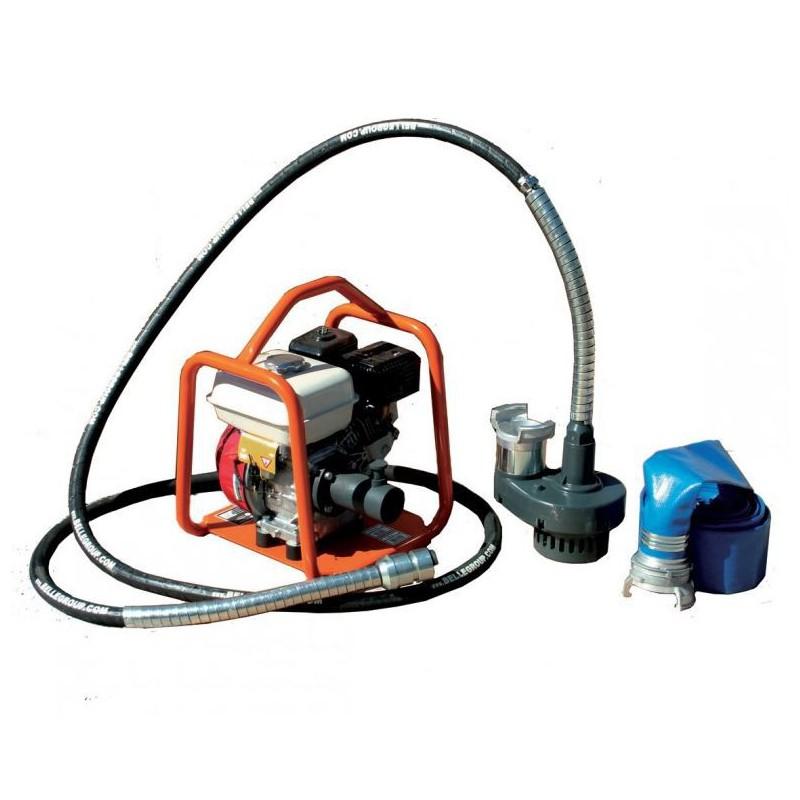 Pompe thermique à cable - 72 m3
