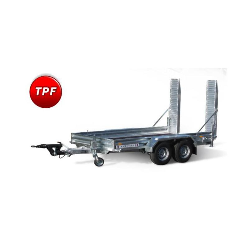Remorque porte engin 3500 kg PTAC