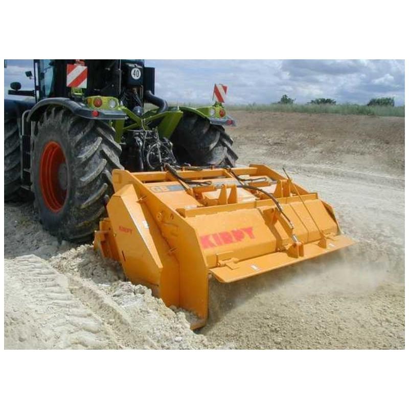 broyeur de pierre sur tracteur 300 cv l 2 000 mm location. Black Bedroom Furniture Sets. Home Design Ideas
