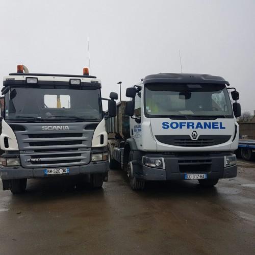 Camion Ampliroll - Benne 15 - 30 m3