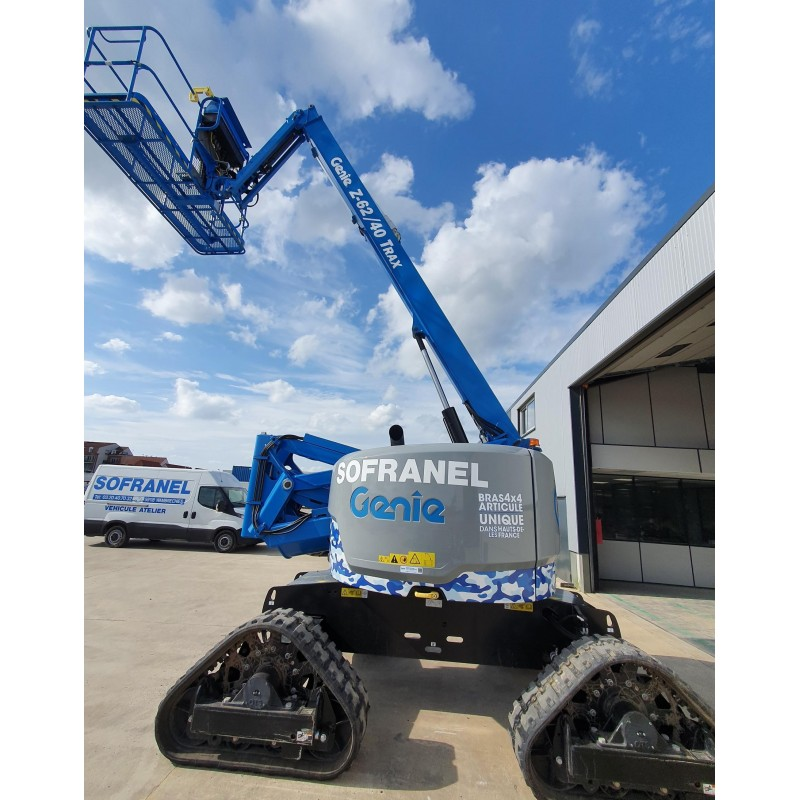 NACELLE 21m ARTICULEE CHENILLES Z6240 TRAX